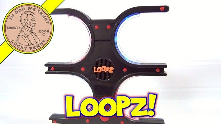 Loopz Loopz The Memory Game That Gets You Moving 2009 Mattel Toys YouTube