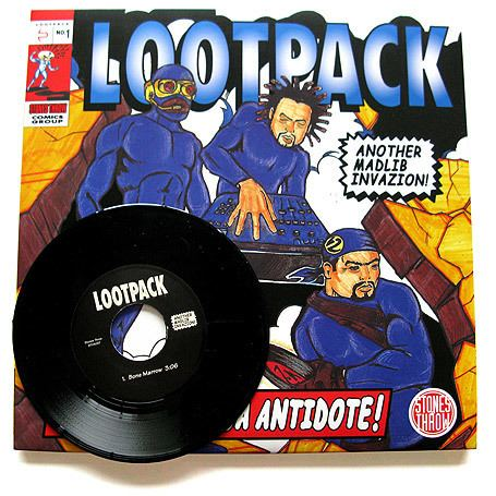 Lootpack Lootpack Soundpieces Da Antidote Stones Throw Records