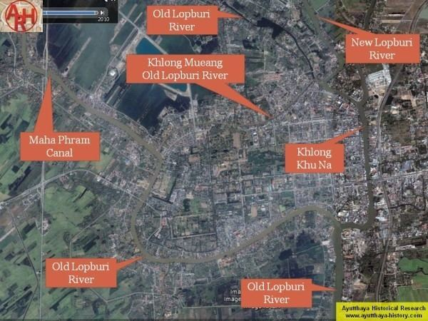 Lopburi in the past, History of Lopburi
