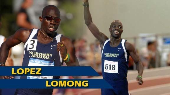 Lopez Lomong The Official Site of Northern Arizona University Athletics