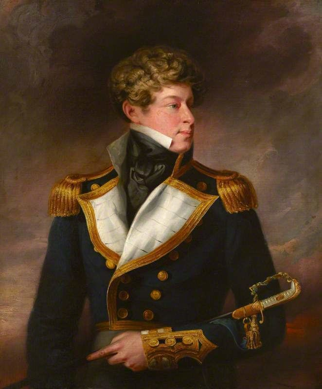Lord Adolphus FitzClarence RearAdmiral Lord Adolphus FitzClarence 18021856 GCH ADC RN