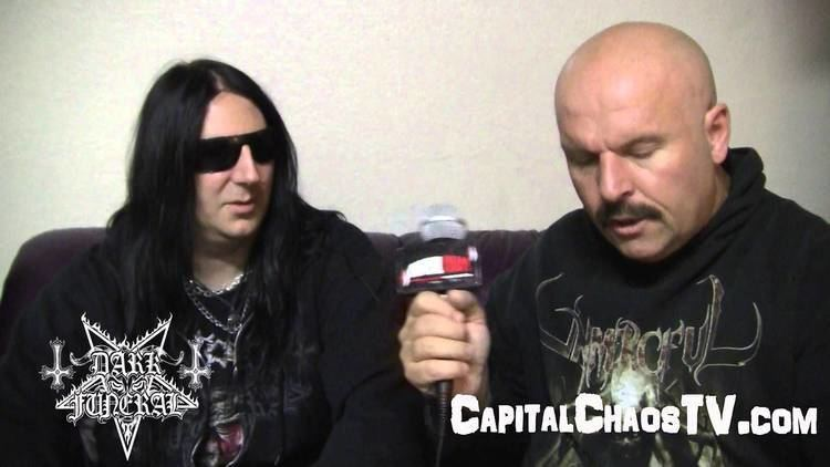 Lord Ahriman DARK FUNERAL interview with LORD AHRIMAN CAPITAL CHAOS TV