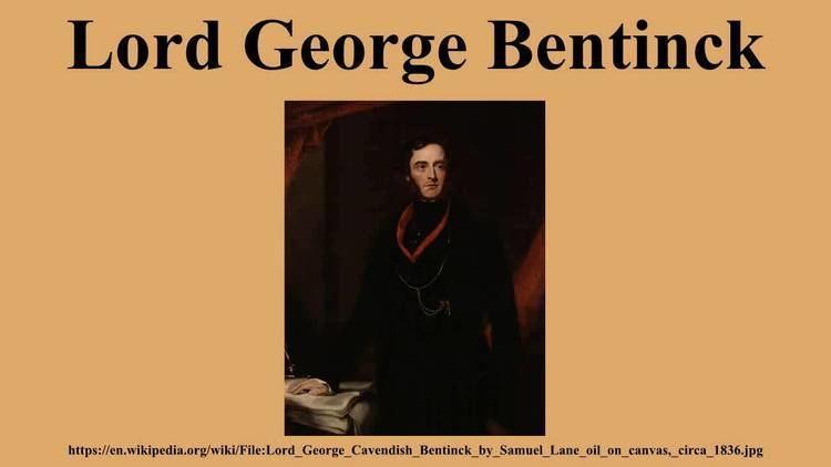 Lord George Bentinck Lord George Bentinck YouTube