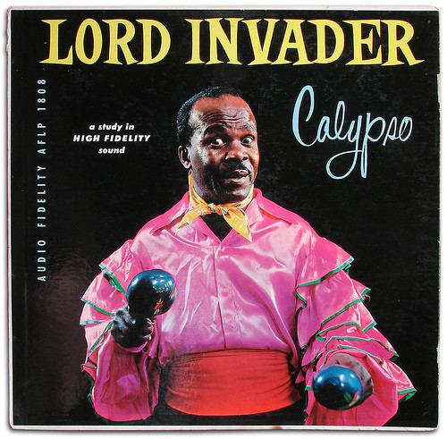 Lord Invader Lord Invader Calypso Vinyl LP Album at Discogs