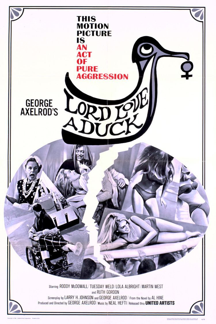 Lord Love a Duck wwwgstaticcomtvthumbmovieposters206p206pv