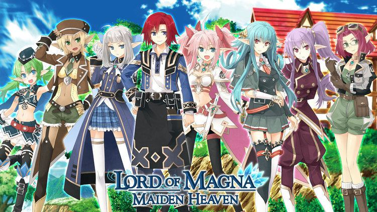 Lord of Magna: Maiden Heaven Lord of Magna Maiden Heaven