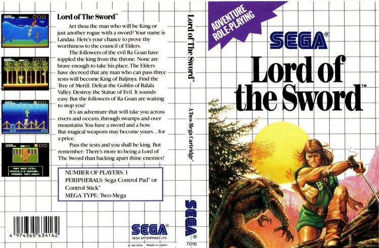 Lord of the Sword Lord of the Sword Lord of Sword Australia