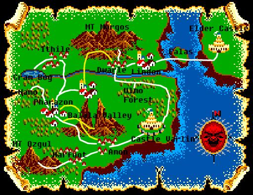 Lord of the Sword Sega8bitcom a Sega Master System fan site