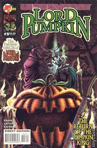 Lord Pumpkin Lord Pumpkin Necromantra 1995 comic books