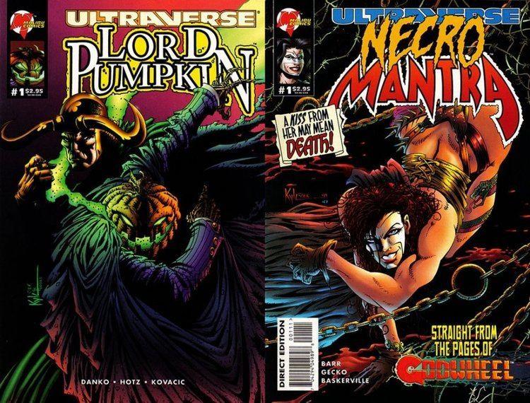 Lord Pumpkin Lord Pumpkin Necromantra 1 Malibu ComicBookRealmcom