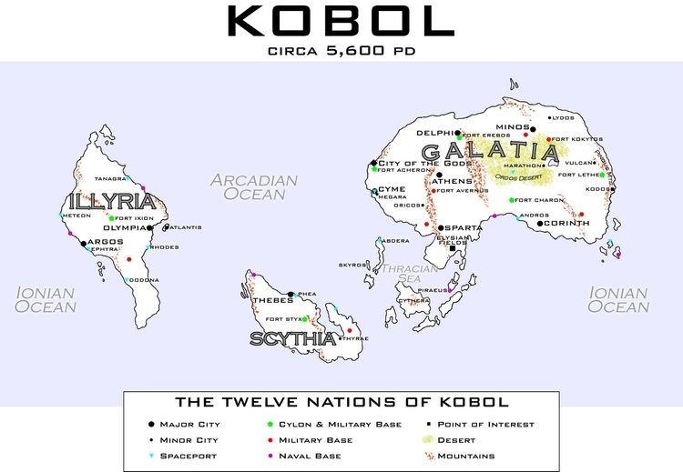 Lords of Kobol ety3rd Kobol and Beyond Mapping Kobol Part III