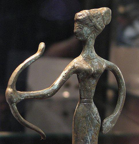 Lords of Kobol One of Kara39s Lords of Kobol figurines Artemis Chuck Taggart