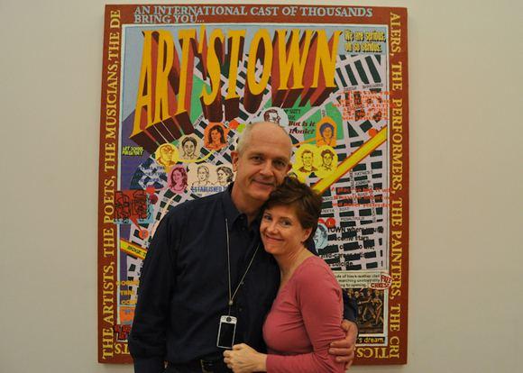 Loren Munk Loren Munk Talks Social Network Paintings James Kalm Report