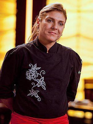 Lorena Garcia Chef Lorena Garcia falls in the middle as Top Chef Masters take