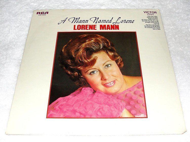 Lorene Mann Lorene Mann LORENE MANN a mann named lorene RCA 4243 LP vinyl