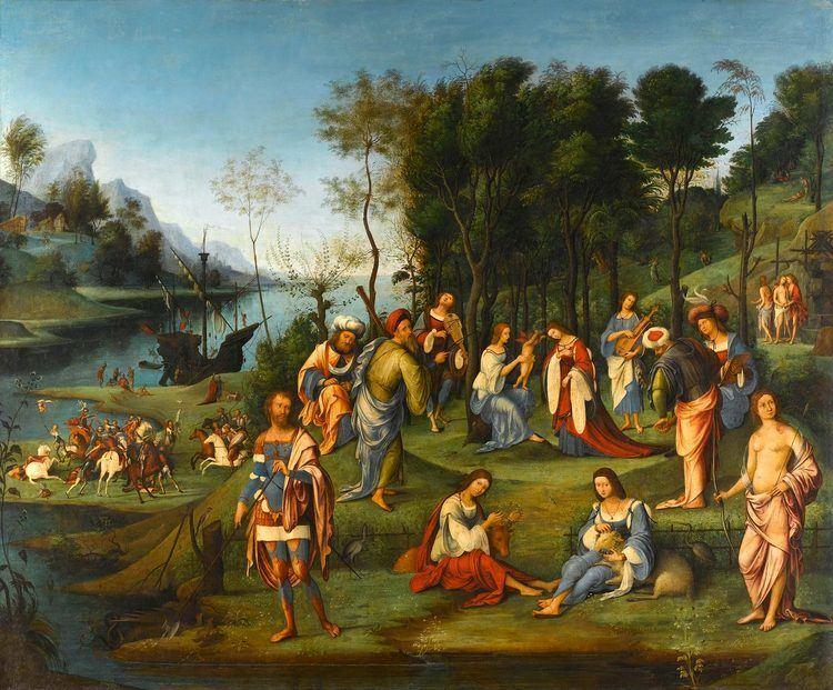 Lorenzo Costa Mantegna Exhibition Muse du Louvre Paris