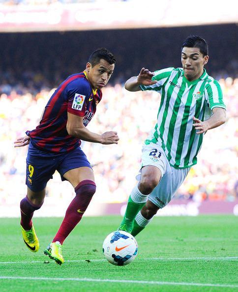 Lorenzo Reyes Lorenzo Reyes Pictures FC Barcelona v Real Betis