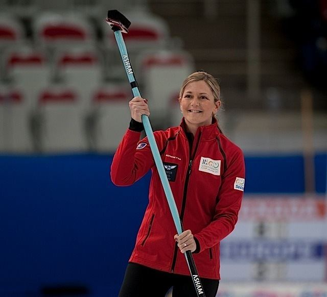 Lori Olson-Johns 2015 World Financial Group Continental Cup Curling