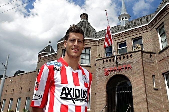 Loris Brogno Sparta Rotterdam Sinds 1888 Loris Brogno tekent