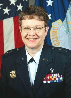 Lorraine K. Potter CHAPLAIN MAJOR GENERAL LORRAINE K POTTER US Air Force
