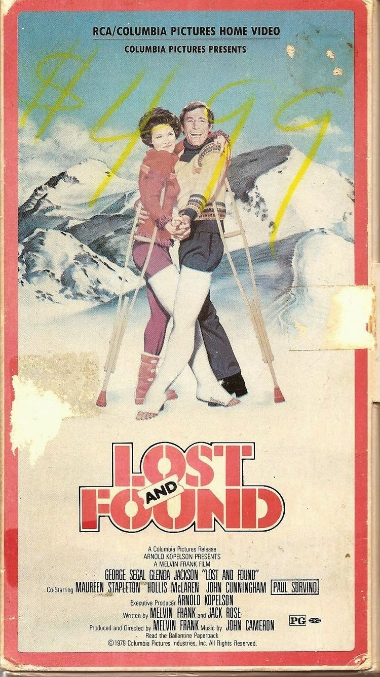 Lost and Found (1979 film) Schuster at the Movies Lost and Found 1979