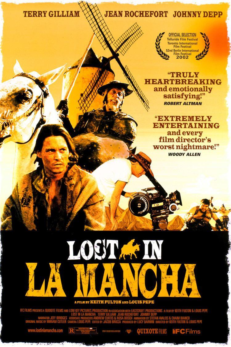 Lost in La Mancha wwwgstaticcomtvthumbmovieposters30690p30690