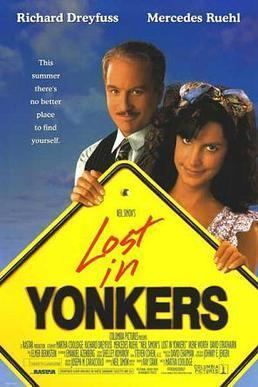 Lost in Yonkers (film) movie poster