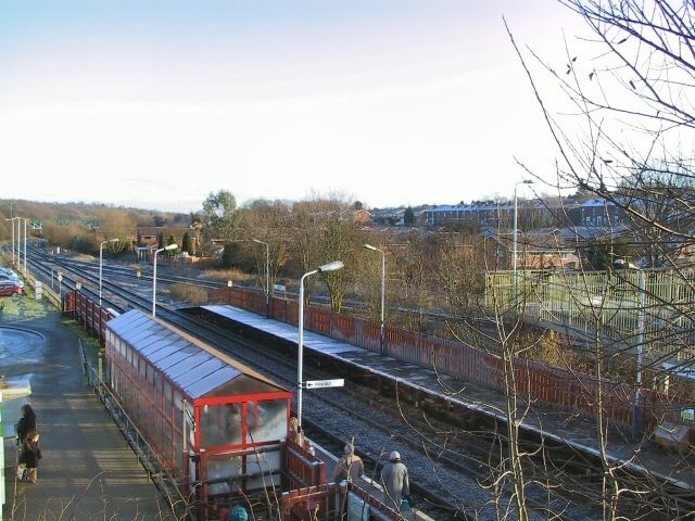 Lostock railway station