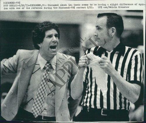Lou Goetz Photo of Lou Goetz Basketball Coach BJD989CA MMG Archives