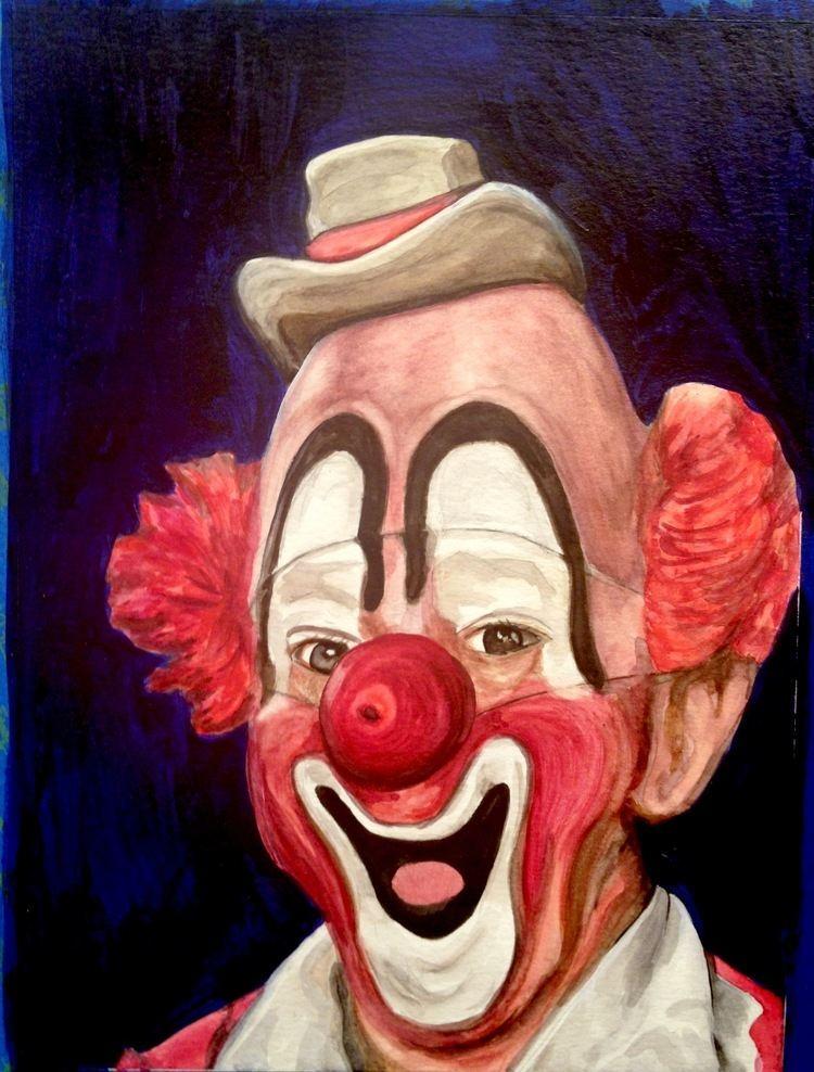 рисунок клоуна грустного карандашом фото зависимости