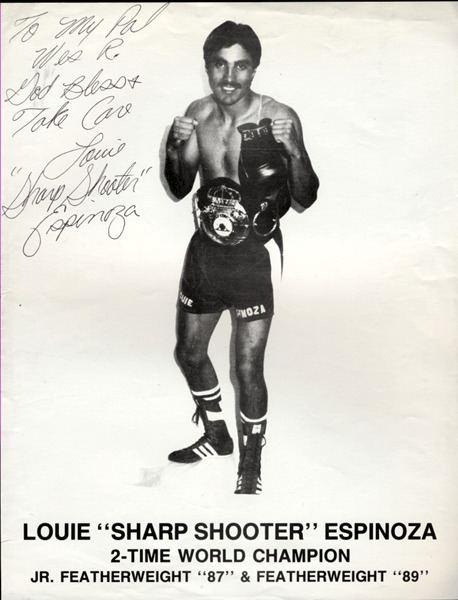 Louie Espinoza Jo Sports Inc