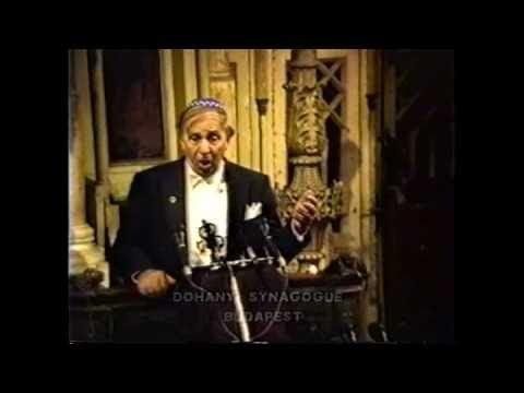 Louis Danto Cantor Louis Danto Dos Yiddish Lid Budapest 1989 YouTube