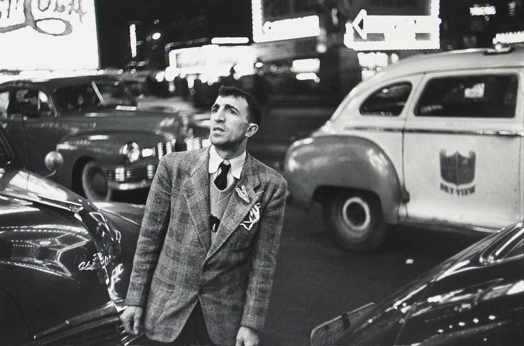 Louis Faurer penccil New York by Louis Faurer
