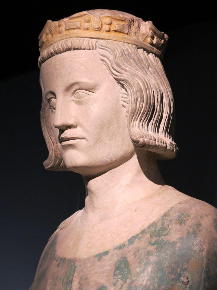 Louis IX of France FileHead of statue of the king SaintLouis Louis IX exhibition