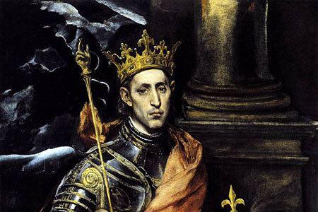 Louis IX of France St Louis IX of France San Sebastian College Recoletos Manila