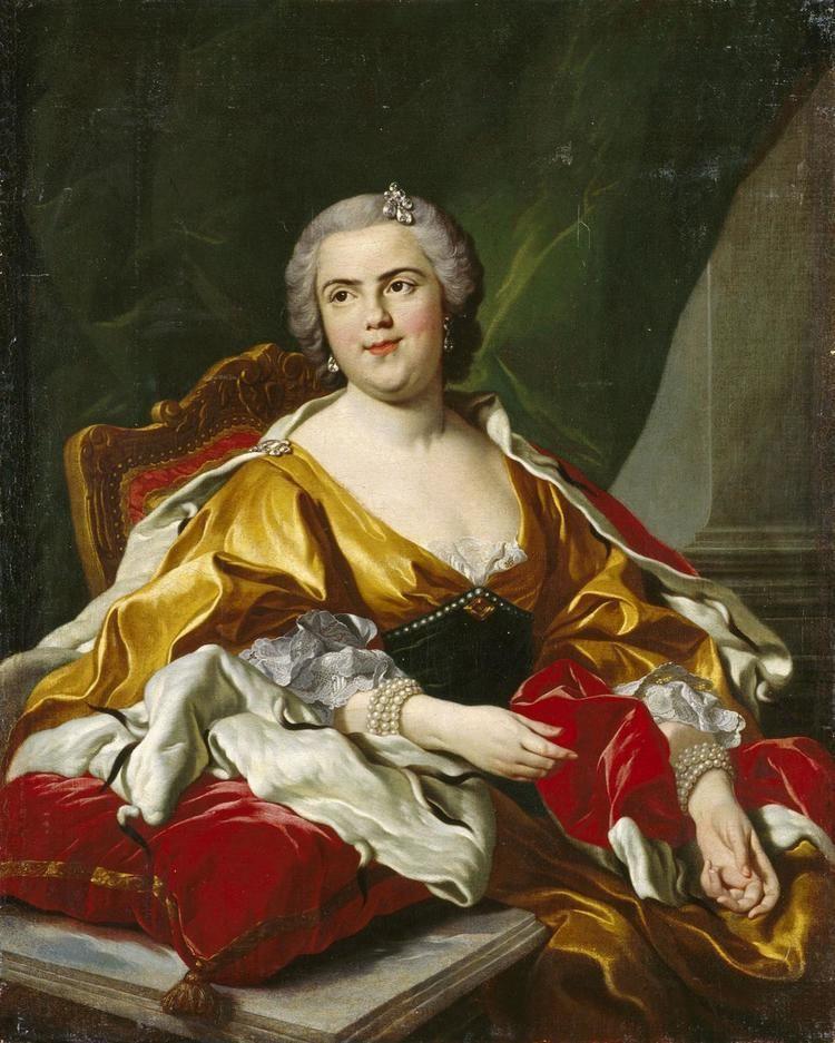 Louis-Michel van Loo Luisa Elisabetta di Borbone Duchessa di Parma sec XVIII