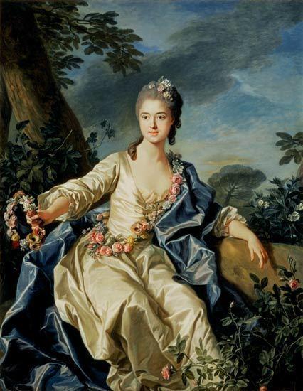 Louis-Michel van Loo The Comtesse de Beaurepaire Louis Michel van Loo as art