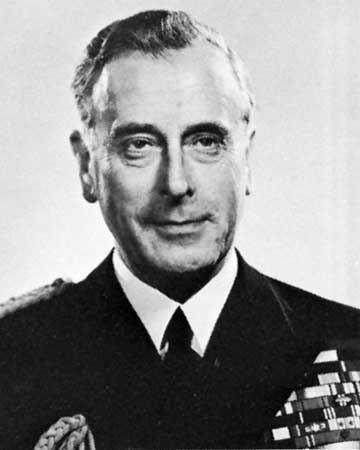Louis Mountbatten, 1st Earl Mountbatten of Burma Louis Mountbatten 1st Earl Mountbatten British