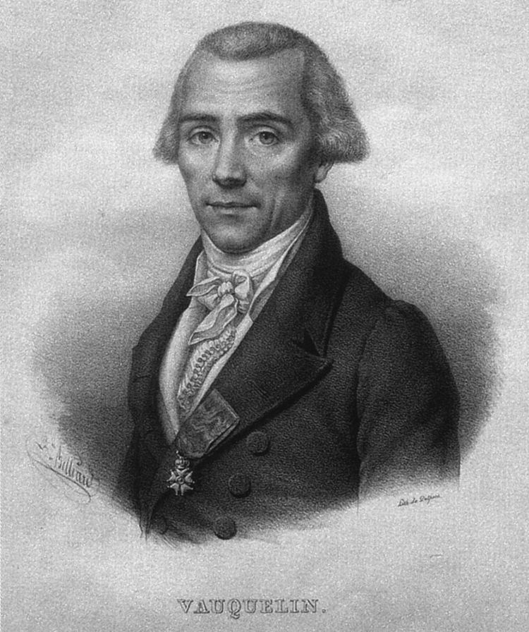 Louis Nicolas Vauquelin LouisNicolas Vauquelin Wikiwand