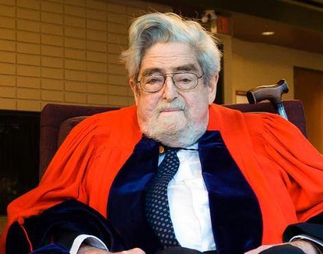 Louis Nirenberg Dr Louis Nirenberg Graduation at UBC