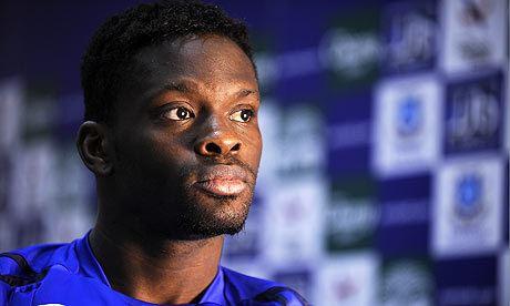 Louis Saha Louis Saha illness rocks Everton39s FA Cup plans as Vaughan