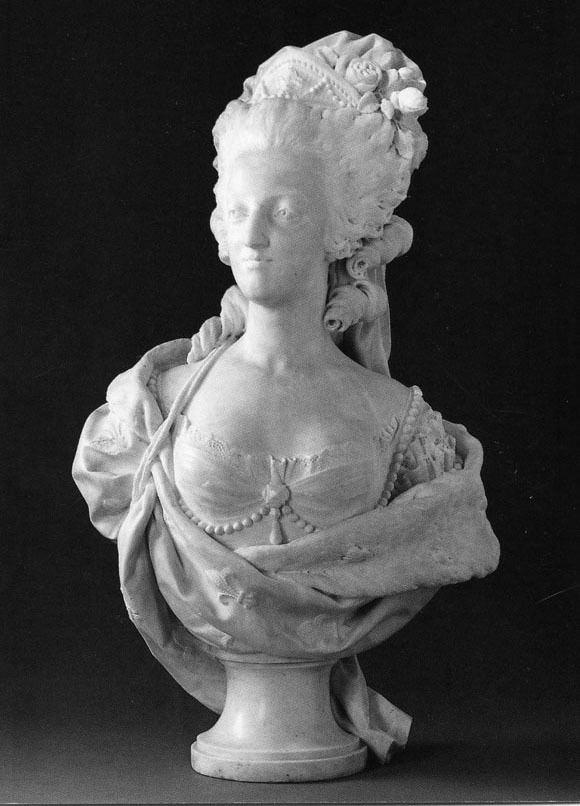 Louis-Simon Boizot LouisSimon Boizot MarieAntoinette marble 1781 Muse