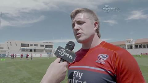 Louis Stanfill Universal Sports Network USA Rugby Interview with Louis