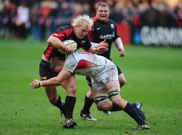 Louis Stanfill Louis Stanfill and Petrus du Plessis Photos Saracens v