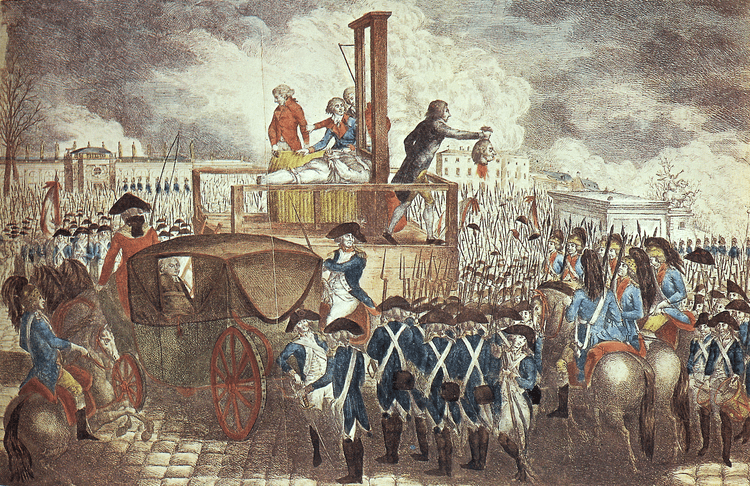 Louis XVI of France King Louis XVI executed History TV