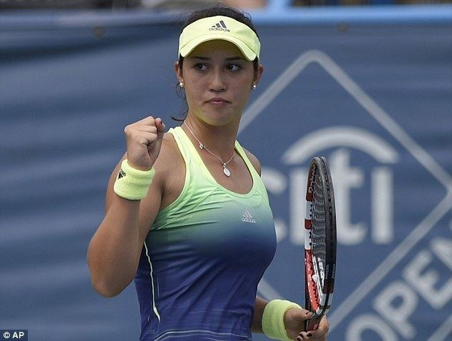 Louisa Chirico Heather Watson crashes out of Citi Open following straight