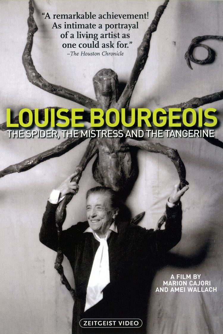 Louise Bourgeois: The Spider, the Mistress, and the Tangerine wwwgstaticcomtvthumbdvdboxart189949p189949