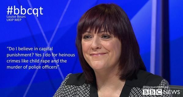 Louise Bours Louise on Question Time Louise Bours MEP