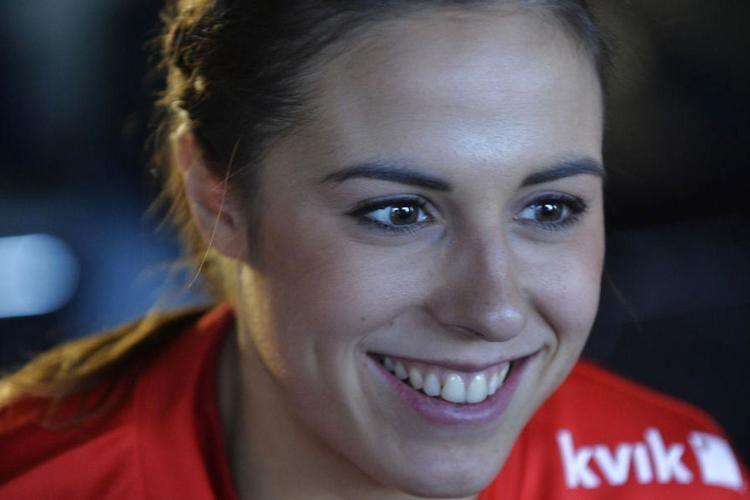 Louise Burgaard Burgaard melder sig VMklar Hndbold wwwbtdk