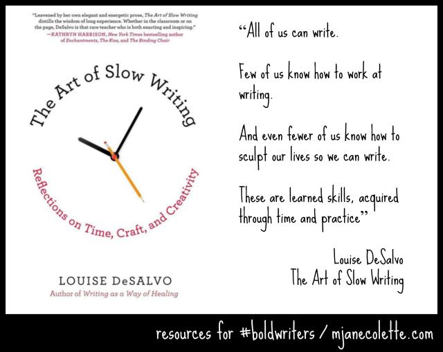 Craft The Art of Slow Writing Reflections on Time and Creativity